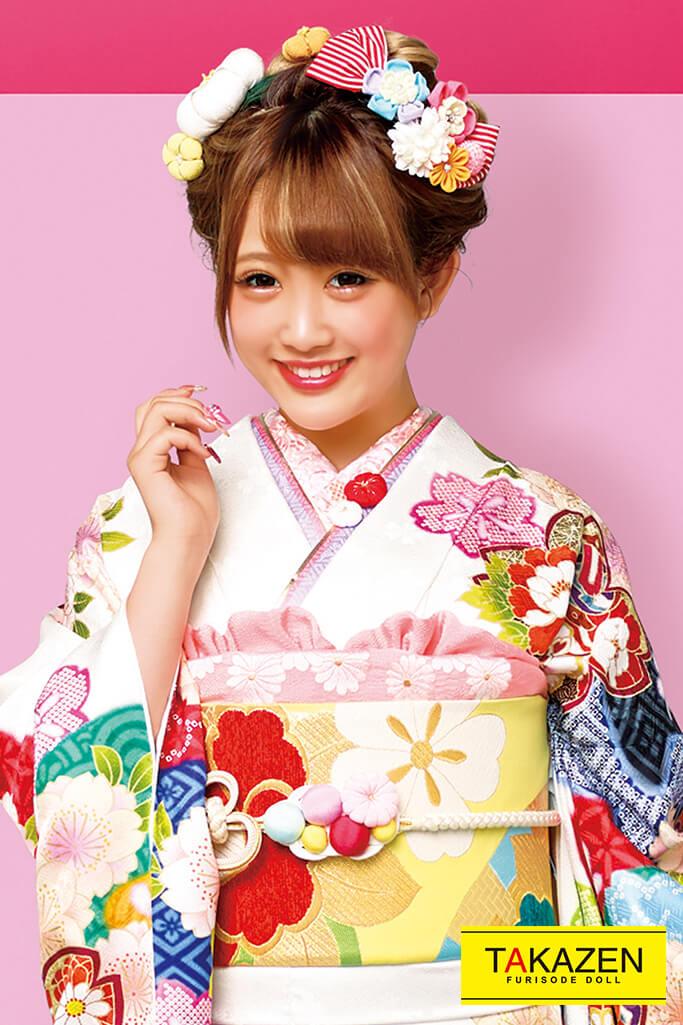 個性的かわいいレトロ古典(おしゃれポップ) 白/赤/ピンク 2021年新作☆21004