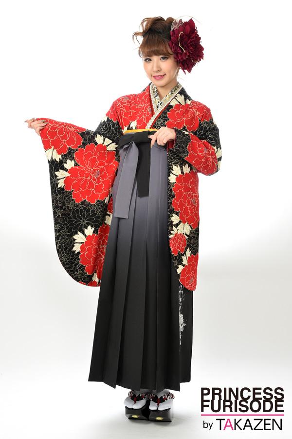 【卒業式袴レンタル/通販可】人気カッコイイ(派手目立つ) RY096
