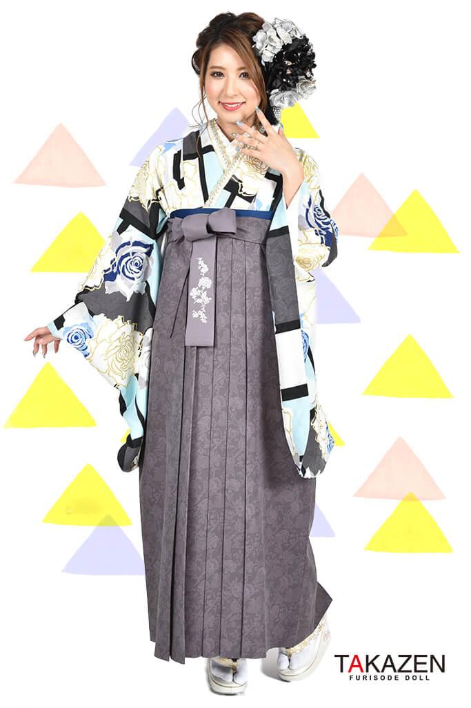 【卒業式袴レンタル/通販可】人気セシルマクビー(目立つ可愛い) RY113