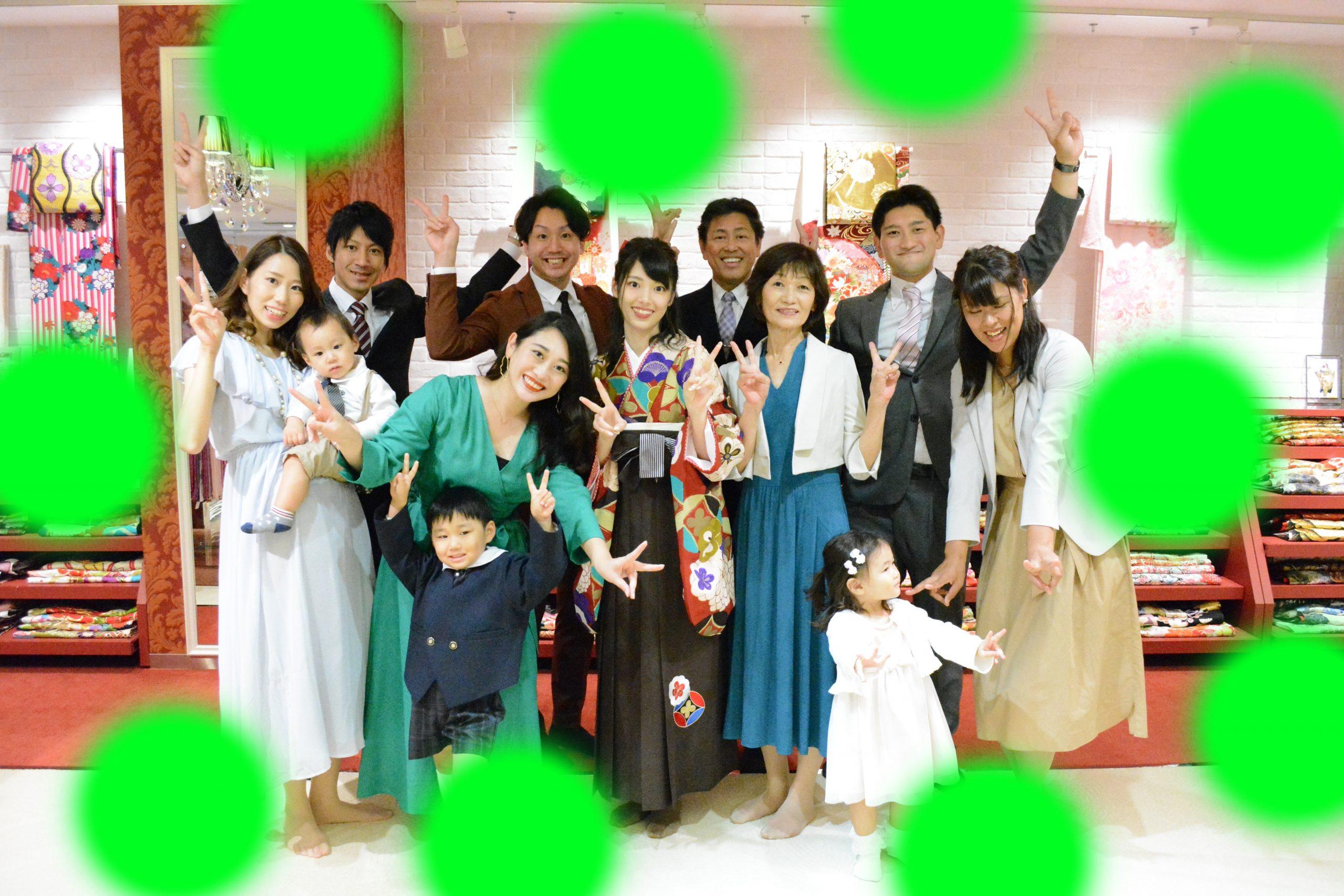 9日 今日の袴前撮り姫ちゃん