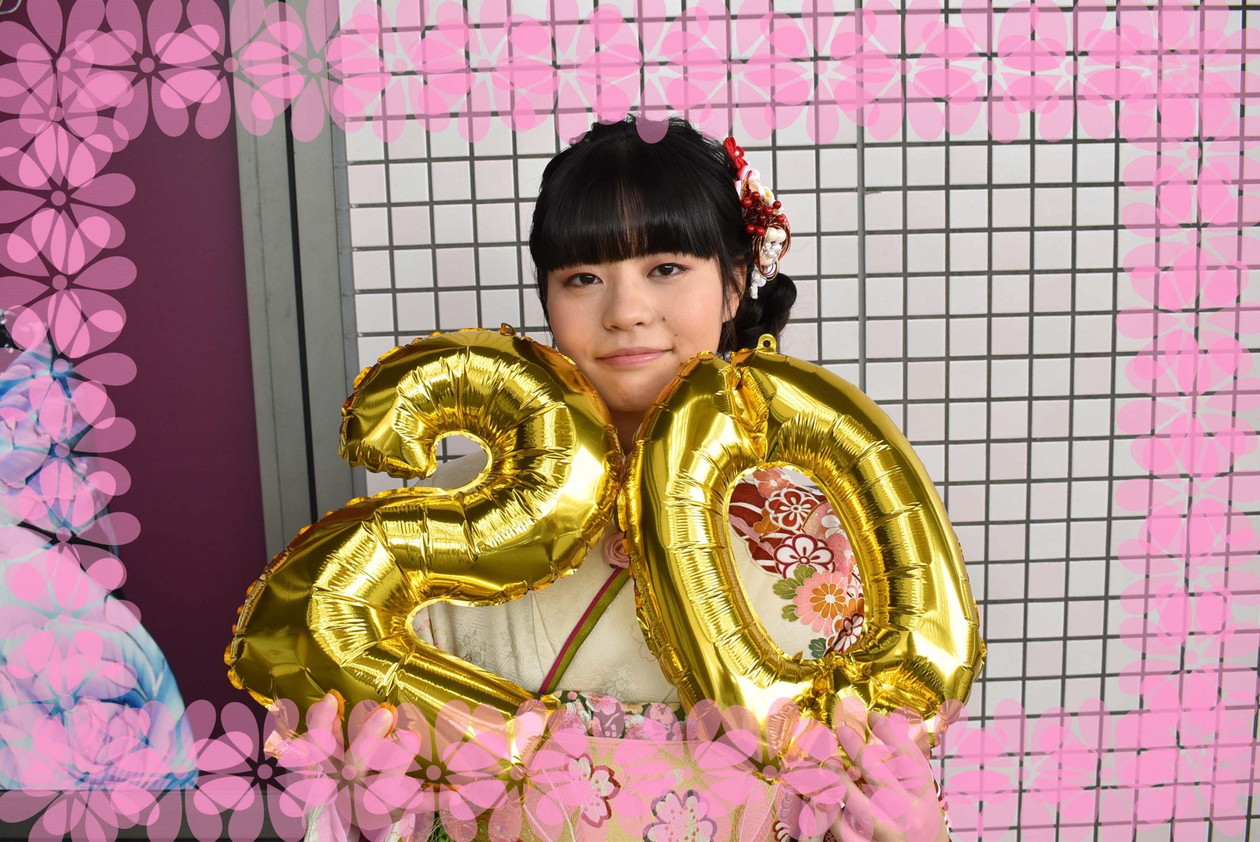 ♡20日 成人式振袖前撮り撮影会 今日の前撮り姫ちゃん♡