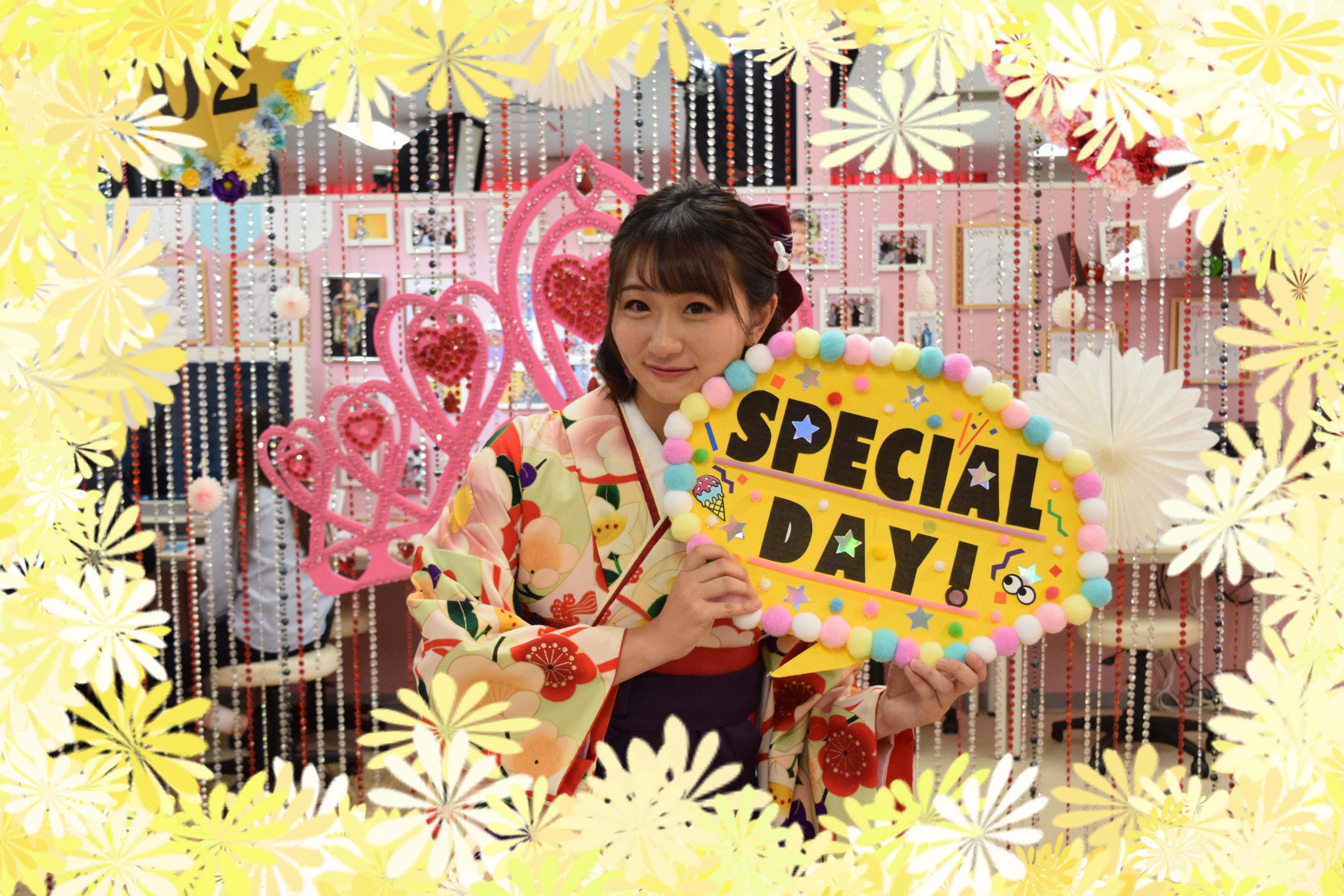 ♡21日 袴の前撮り姫ちゃん♡