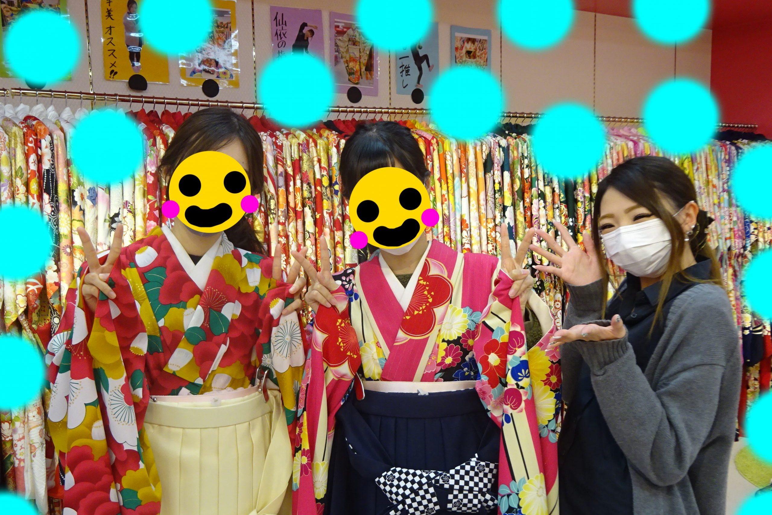 ♡27日 お友達同士の袴姫ちゃん♡