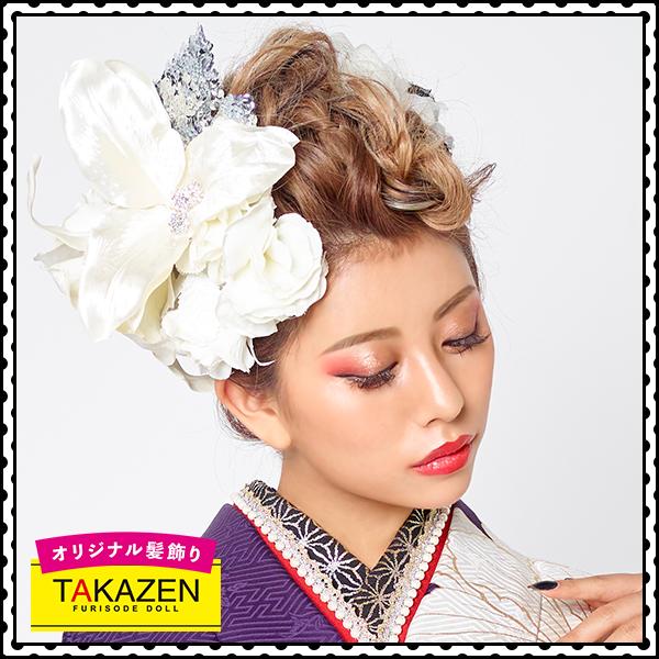 ジャパンモード振袖用髪型♡モヒカン風アップヘア