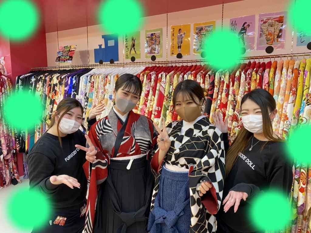 ♡24日 三宮・元町で可愛い袴の姫ちゃん♡
