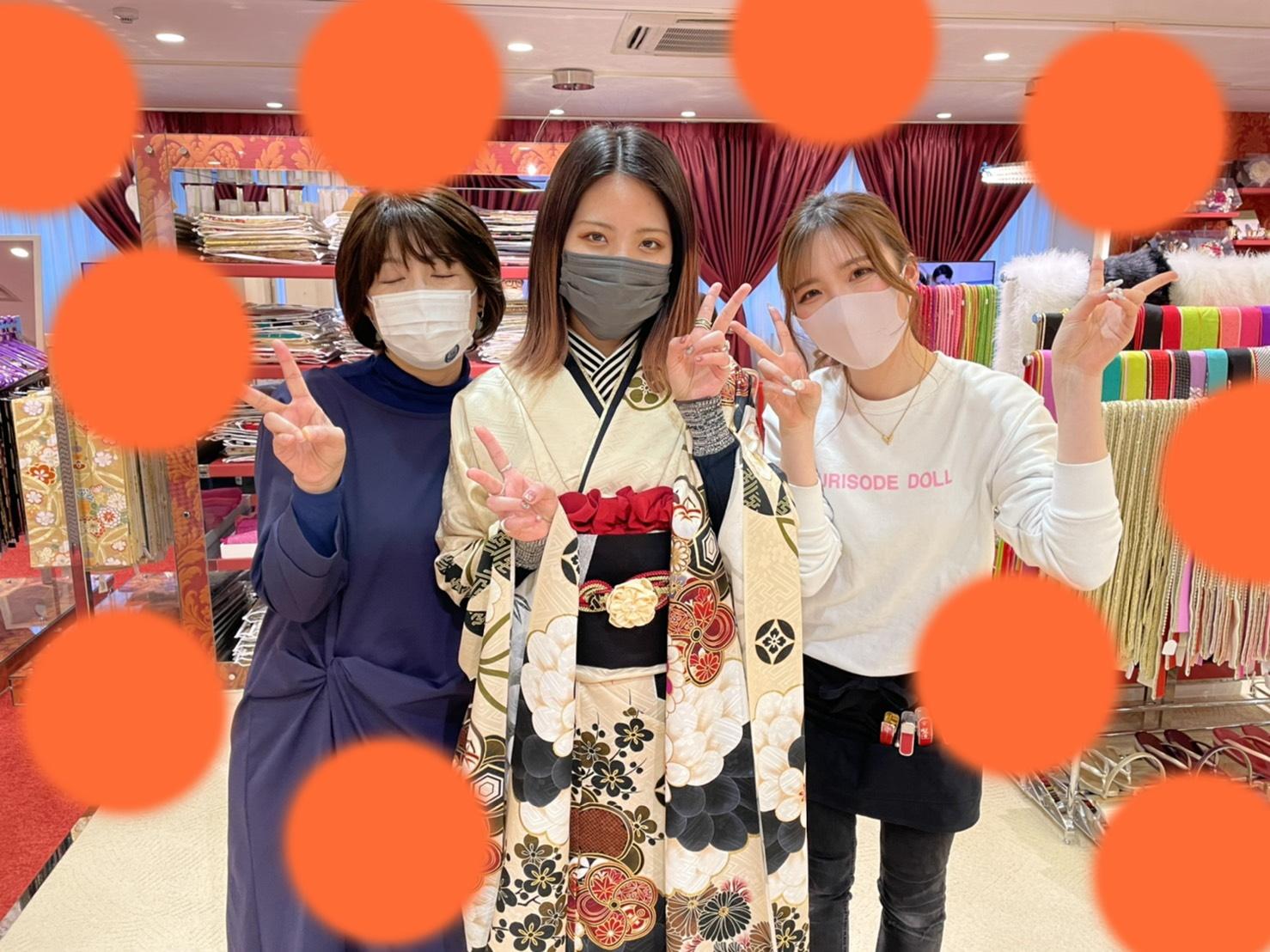 ♡10日 大阪梅田成人式お振袖レンタル姫ちゃん♡