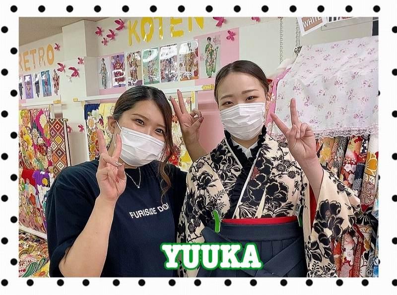 【TAKAZEN奈良店】29日♡ヴィンテージレトロの袴姫ちゃんご来店♡