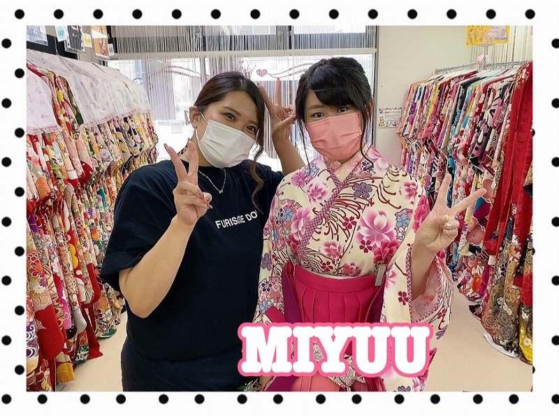 【TAKAZEN奈良店】31日♡2022年成人式&卒業式袴のご来店姫ちゃん♡