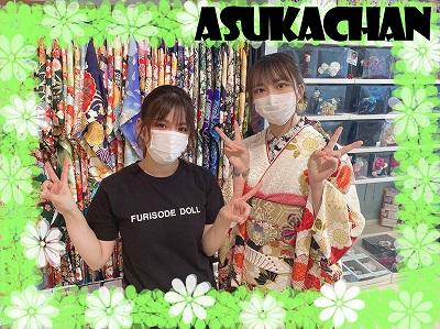 ♡【TAKAZEN堺店】31日 本日のかわいい振袖&袴姫ちゃん♡