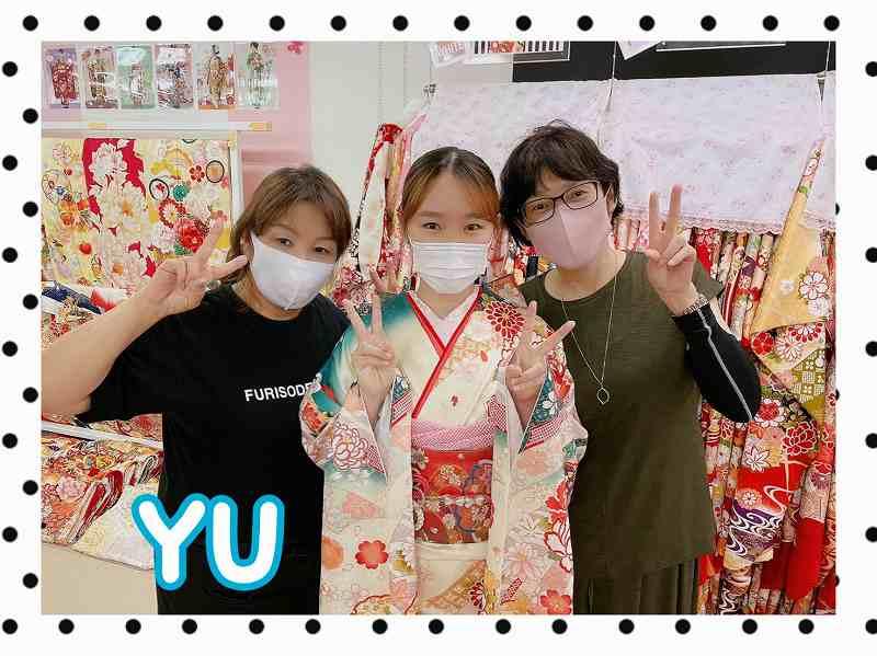 【TAKAZEN奈良店】30日♡定番人気の古典柄お振袖2023年成人式のお嬢様ご来店♡