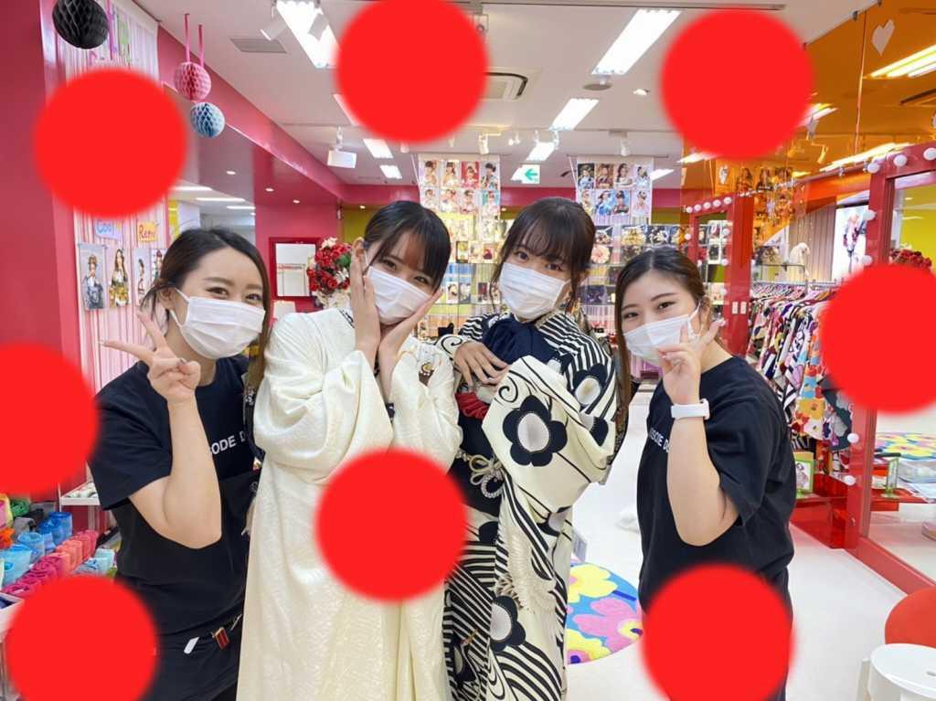 【TAKAZEN神戸店】♡31日 お友達同士でご来店♡イマドキ可愛い♡お振袖の姫ちゃん♡