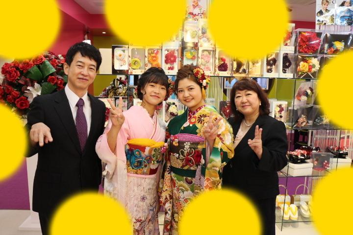 【TAKAZEN神戸店】♡1日 成人式のお振袖の前撮り撮影会♡