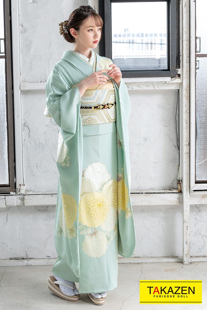 シンプル淡い色綺麗おしゃれ古典(東京レトロ×マーシュ彩) ブルー(水色) K345