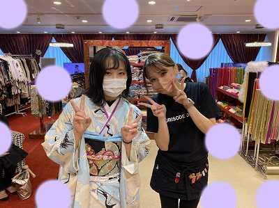 【TAKAZEN梅田本店】♡23日 大阪梅田で袴レンタル姫ちゃん♡