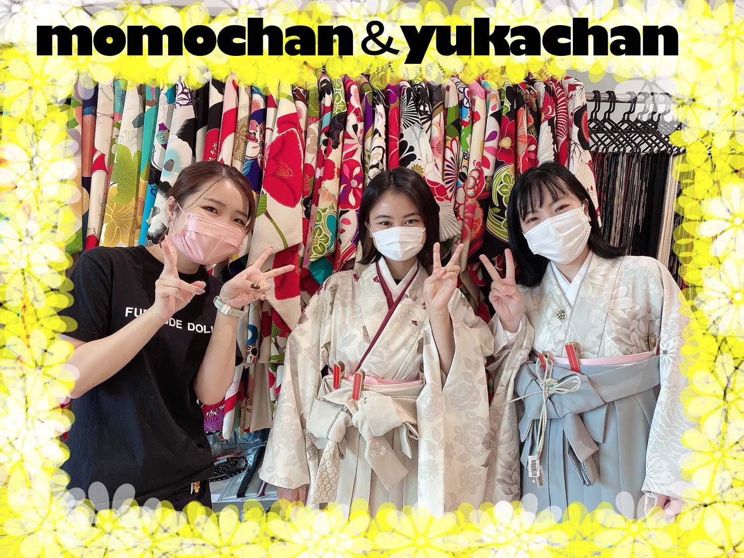 ❤【TAKAZEN堺店】15日 卒業式袴!!流行のくすみカラー&レトロ柄の袴姫ちゃん❤