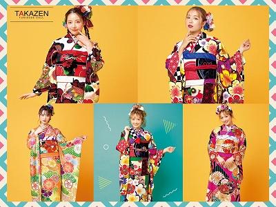 ♡【TAKAZEN堺店】16日 古典×レトロ オシャレで個性的なお振袖♡
