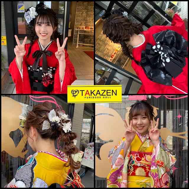 【TAKAZEN奈良店】成人式髪形アレンジ☆定番アレンジや人気髪形アレンジ♡