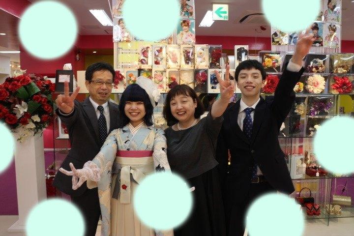 【TAKAZEN神戸店】♡16日 神戸・三宮で成人式の振袖&卒業式の袴の前撮り撮影会の可愛い姫ちゃん